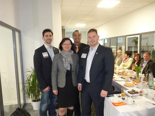 Zwickauer Unternehmernetzwerk zu Gast in Lichtenstein - Rund 40 Netzwerker aus der Region beim BNI-Vertriebsfrühstück
