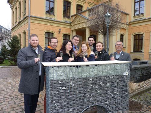 BNI-Unternehmer-Gruppe, die sich auf der BAU Zwickau an einem Gemeinschaftsstand präsentieren wird. Bildquelle: MEDIENKONTOR