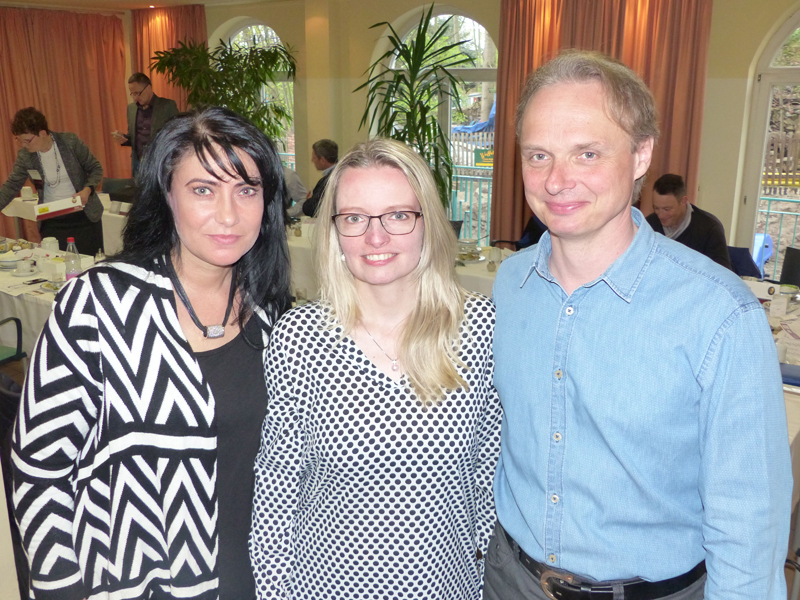 v.l.n.r. Anja Lipp, Daniela Kreißig und Frank Kuno. Bildquelle: MEDIENKONTOR