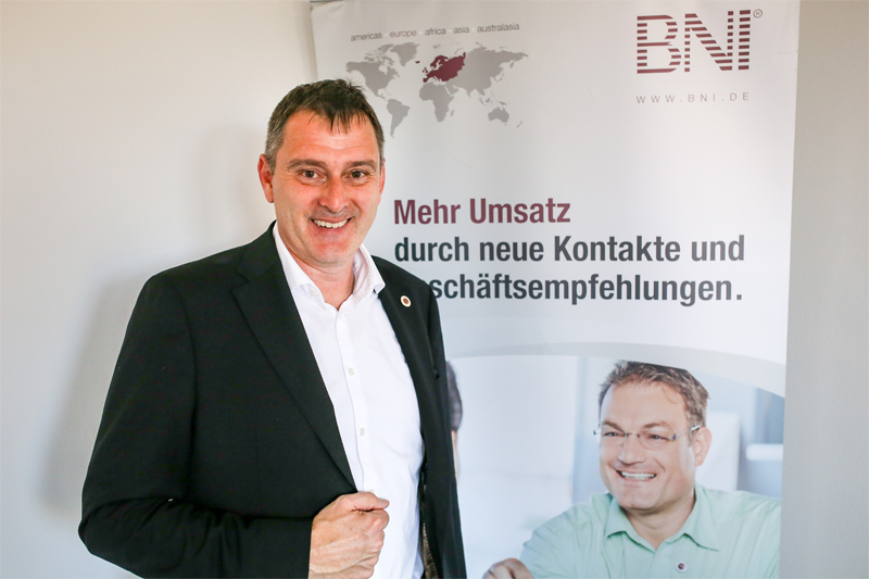 Jens Fiedler, Regionaldirektor BNI Südost. Bild: meeco Communication Services